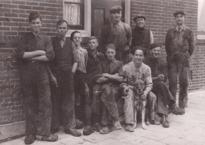 1949 circa groepsfoto kopie